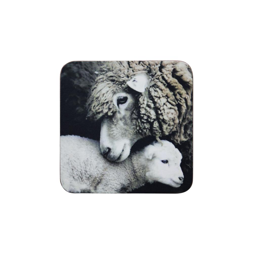 Untersetzer Schaf-Lamm