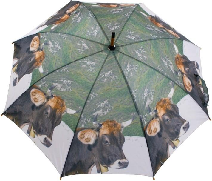 Regenschirm Allgäuer dunkle Kuh