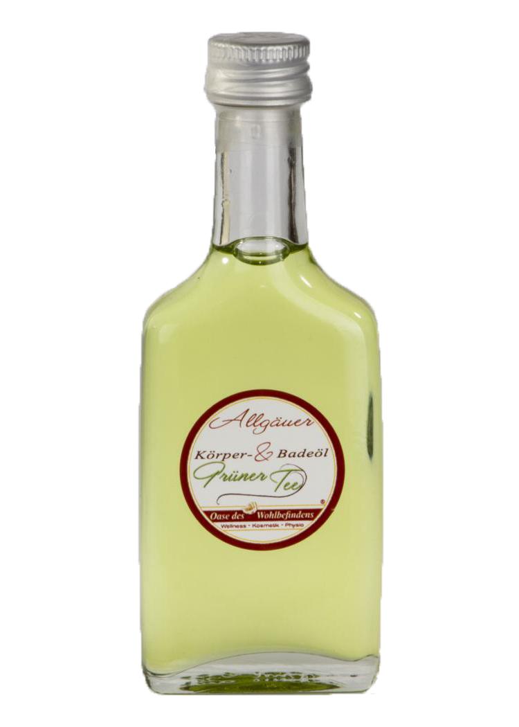 Grüner Tee - Körper & Bade Öl