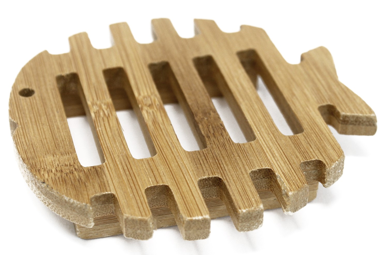 Fisch Holz Seifenschale