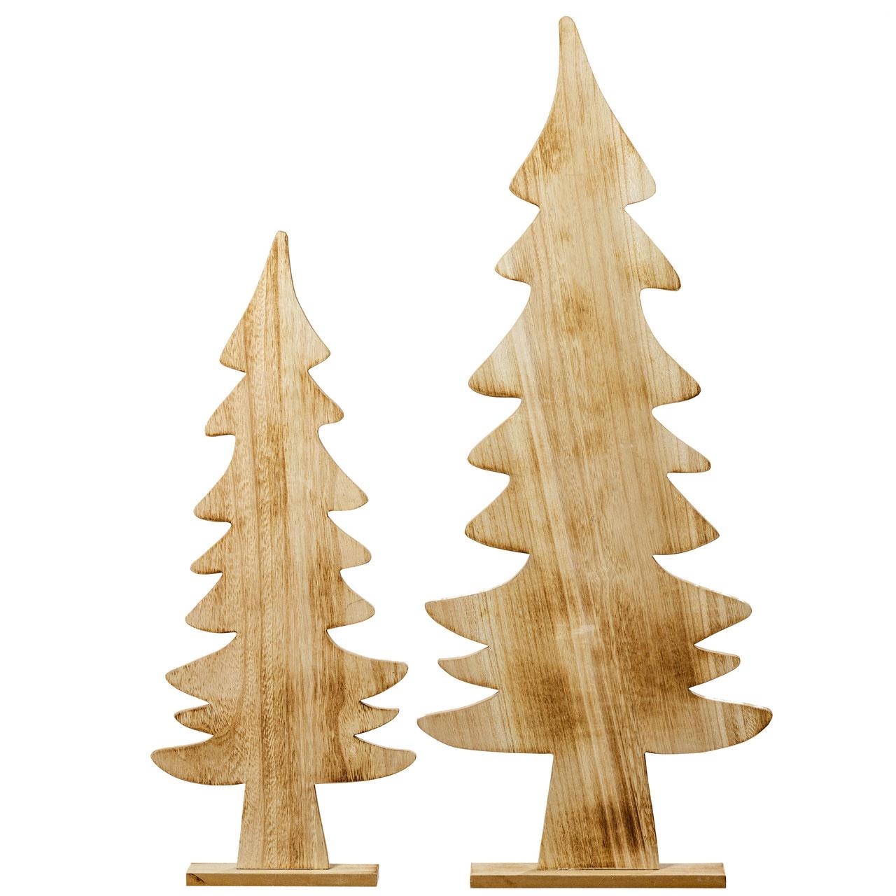 Tannenbaum Kjill aus Voll-Holz
