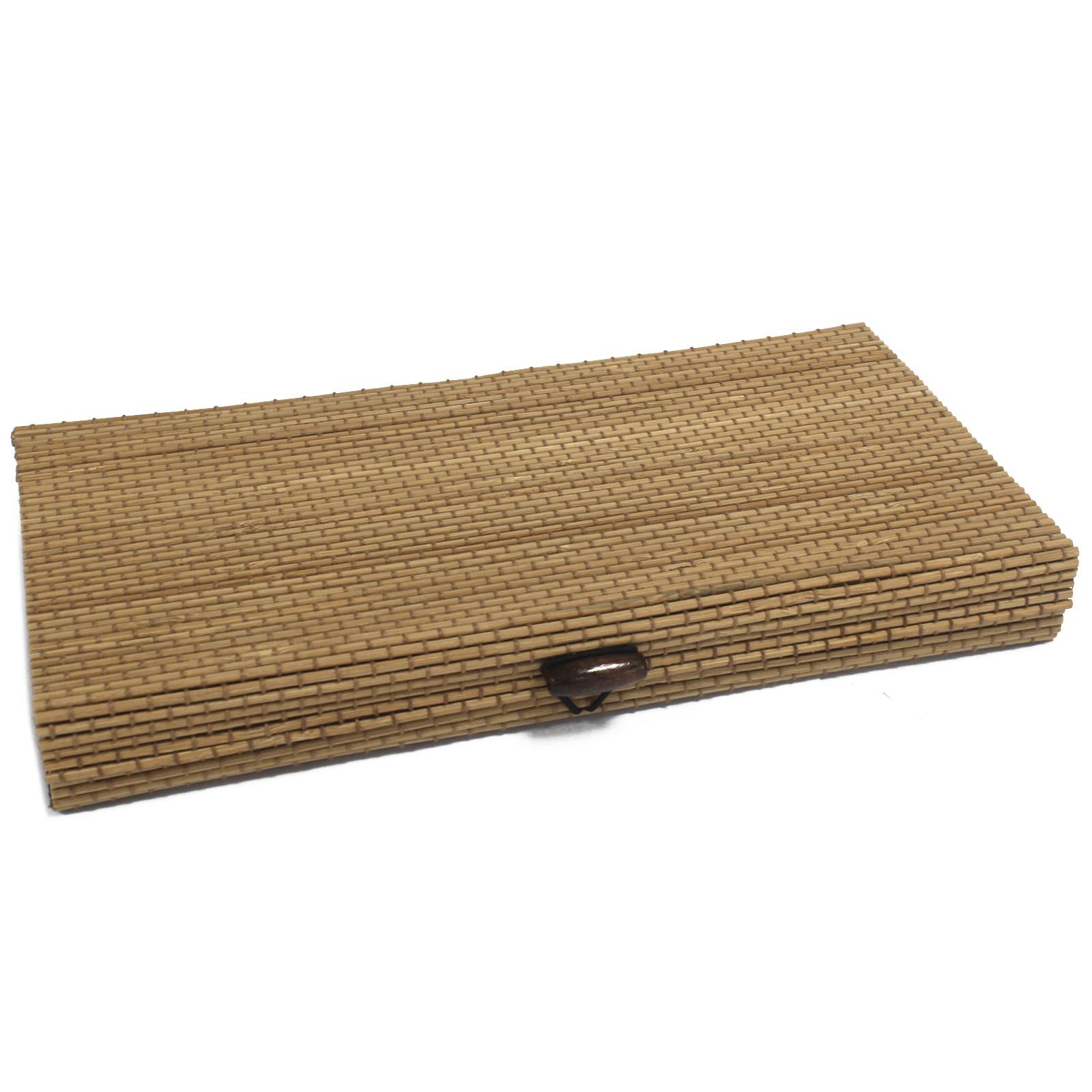 Bambus box flach/breit