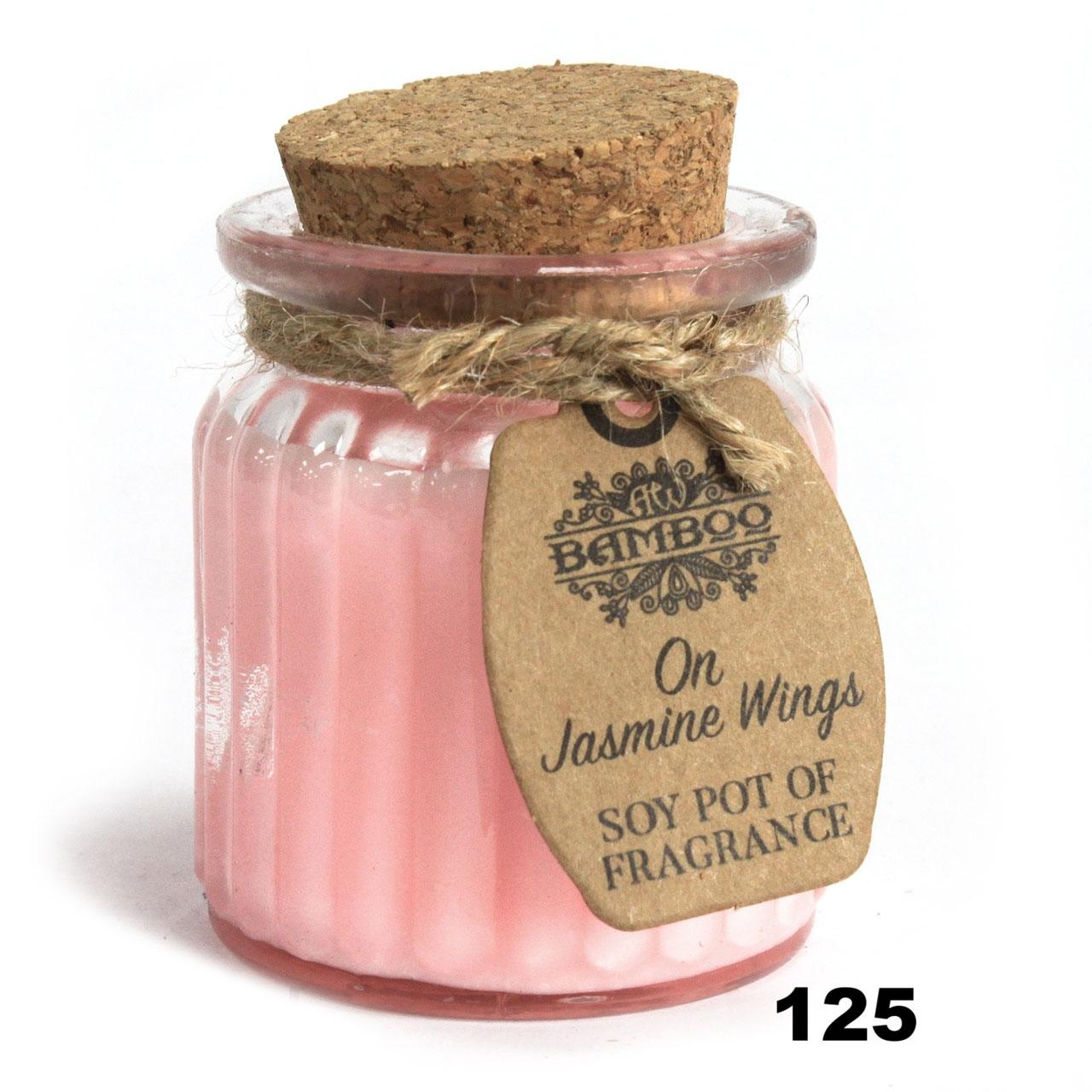 125 Soja Duft  Kerze im Glas