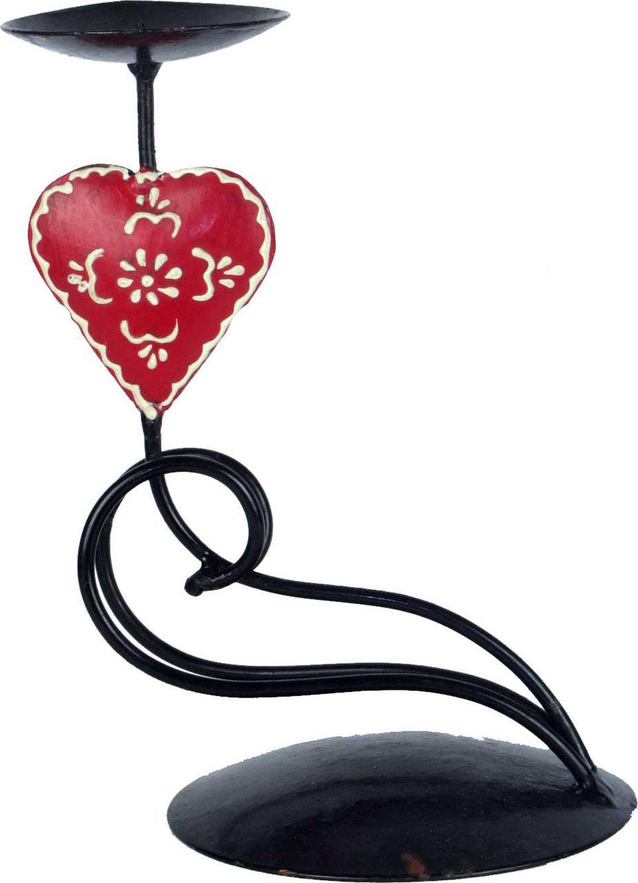 Herz Kerzenhalter